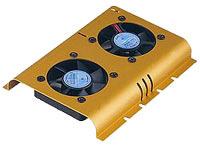 Cooler HDD FlowCooler, Double Fan, 12V