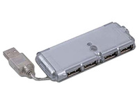 USB HUB 2.0 4-Port UHBC244 w/ Ext. Power