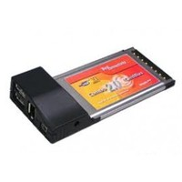 PCMCIA Cardbus to USB 2.0 2port,+ FireWire 2port