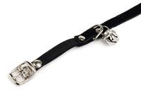 Огрлица за маче еластична црна