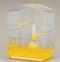 Кафез за Птици Анги 36x23x42cm Хром