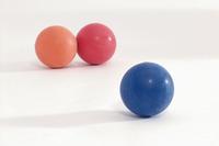Играчка топка тврда гума 7,5 см