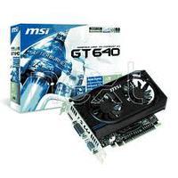 N640GT, 2GB DDR3, 128 bits, Display Output (Max Resolution) 2560x1600