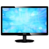 LED 23'' 236V4LSB, Slim Design, 5ms, Smart Contrast 10.000 000:1, DVI, Smart Control Lite, Black Glosy Finish