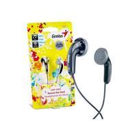 HEAPHONES GHP-200V, Ear-Bud Headphones - Large 15mm Neodymium Driver - 1.2m Cable - Black