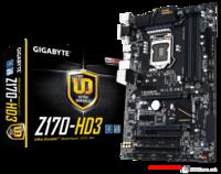 MB Gigabyte GA-Z170-HD3, LGA 1151, VGA/DVI/HDMI, 4xDDR4 2133