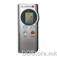 Olympia Digital Dictation machine MEMO 88, Archiving on PC in WAV format, USB port, 512MB Memory, Up to 8100 minutes recording , up to 396 records (4 folders), LCD display with clock, Built in microphone and speaker, Earphone/External microphone jack