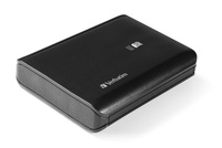 Power bank Verbatim Portable for Smartphone and Tablet 10400mAh Dual USB/1A/ Black