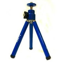 DORR Tripod Mini click blue, from 7cm to 29cm, aluminium