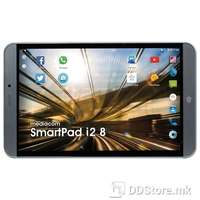 "Tablet PC Mediacom SmartPad i2 8 Quad Atom x3/1GB/16GB/8"" HD IPS/3G/GPS/BT/2xCam/Dark Grey/A6.0"
