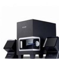 Delux DLS-2165 2.1 Channel speaker, black color, EU cable, 230V, Delux logo, Color box packing