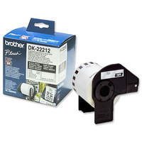 DK22212 White Continious Film Tape 62mm