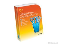 Microsoft Office 2010 Home And Bussines English PC Attach Key non-EU/EFTA PKC Micro