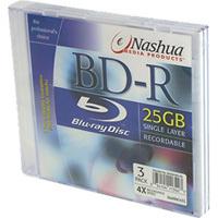 Nashua BLU-RAY 25GB, 4x, 10pcs packed cake box