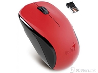 Genius Mouse Wireless, 2.4GHz, 1200dpi, NX-7005, G5, Hanger, Red