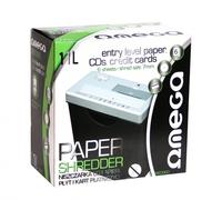 Shredder Omega For Paper/CDs/Credit cards w/Basket