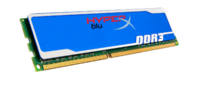8GB 1600MHz DDR3 Non-ECC CL9 DIMM HyperX Blu