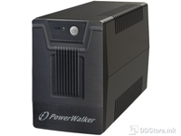 UPS PowerWalker 1000VA/600W 4xSkhuko 1xRJ45/RJ11 USB Line-Interactive