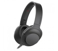 SONY MDR100AAPB.CE7, High Resolution Overhead Headphones, Black