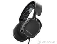 Headphones SteelSeries Arctis 3 7.1 Surround Gaming Black