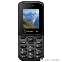 Mobile Phone Manta MS1701N Dual Sim Black