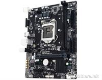 MB Gigabyte H110M-S2 LGA1151 DDR4 2133MHz SATA3 USB3.0 GBit LAN VGA