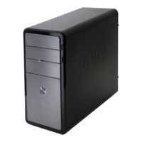 Niobium Minitower Case, W/out PS, 2x USB 2.0 + Audio + Mic, Kensington Lock, Metallic Grey Color