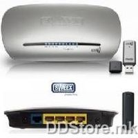 Sweex Wireless 150N Router + USB N Wireless KIT LW908