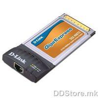 D-Link D-LINK, žični, PCMCIA, 10/100/1000Base-T, Vid na priklučoci RJ45, Broj na priključoci 1, DGE-660TD