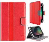 Belkin Cover CINEMA STRIPE FOLIO WITH STAND for NEXUS 7 -Red F7P035vfC01