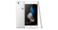 HUAWEI P8 Lite White + GRATIS Huawei Protective cover for P8 Lite, Gold color