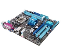 P5G41T-M LX Parallel & Serial on back  I/O, CPU Socket: LGA775, Chipset Vendor: Intel, Chipset(NB): G41, Chipset(SB): ICH7, System Bus: 1333/1066/800, Memory Socket: 2DDR3(Dual Channel) , Memory BUS: DDR3 1333 (O.C.)/1066/800, Max Memory Size: 8.0G,