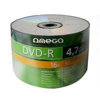 DVD-R 4.7GB 16x Omega 50pcs Wrap