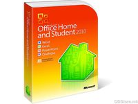 Microsoft Office 2010 Home And Student English PC Attach Key non-EU/EFTA PKC Micro