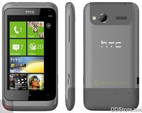 "HTC Radar/Omega metal silver , 3.8"" S-LCD capacitive Gorilla glass multitouch display, 480x800, Microsoft Windows 7.5 Mango, 5MP camera autofocus LED flash, HD ready video 720P recording, Second video camera, 3G, EDGE, BT, WLan, USB, GPS with A-GPS,"