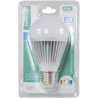 LED Bulb E27 Omega 9W Warm White 2700K