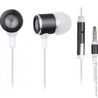 Earphones Gembird MHS-EP-001 Metal w/Microphone Black