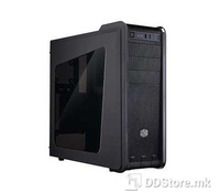 "CoolerMaster CM 590 III with window, Mid-Tower Case, Black,  5.25"" Drive Bays: 3, 3.5"" Drive Bays: 3, SSD Drive Bays: 2, RC-593-KWN2"