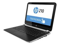 "Notebook HP 210 i3-4010U/4GB/320GB HDD/11.6"" LED Touchscreen/BT/Win8.1PRO"
