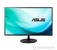 """ASUS 24"""" Wide VN247HA with Stereo Speakers 2W x 2, Panel Size: Wide Screen 23.6""""(59.9cm) 16:9: True Resolution: 1920x1080 (FHD), Display Viewing Area(HxV): 521.28 x 293.22 mm, Pixel Pitch: 0.2715mm, Brightness: 250 cd/m2, ASUS Smart Contrast Ratio: 8"""