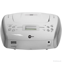 Mpman Portable Radio/CD Player CSU-336 PLL White