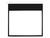"1:1 Manual Self-Lock Projection Screen Deluxe 112"" Slow retention"