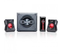 Genius SW-G2.1 2000 speakers + subwoofer, 50W, for gaming