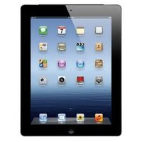 "Apple The New iPad 3 Black 32GB Wi-Fi Tablet, 9.7"" Retina Touchscreen Display, 2048x1536, Dual-Core A5X Chip with Quad-Core Graphics, 5 Megapixel iSight Camera, 980p Video Recording, Apple iOS 5, 9 Hour Battery Life, MC706LL/A"
