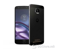 Motorola Moto Z, Black, 4G LTE, 5.5 inches AMOLED capacitive touchscreen, 16M colors, Resolution: 1440 x 2560 pixels, Chipset: Qualcomm MSM8996 Snapdragon 820, CPU: Quad-core (2x2.15 GHz Kryo & 2x1.6 GHz Kryo), GPU: Adreno 530, Internal Memory: 32GB,
