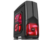 ATX Midi Tower Case SAMA SA-06 Dema Warrior Gaming Black w/o PSU
