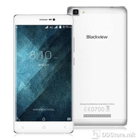 "Smartphone 5.5"" HD Blackview A8 MAX Silver 64Bit Quad Core 1.3GHz/2GB/16GB/4G/Dual SIM/5MP+8MP/A6.0"