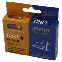 PTC EC-T1281, T01281, Black, (13ml), Ink Cartridge for Epson Stylus SX125, SX420W, SX425W, S22; Office BX305F, 305FW