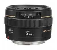 Canon Lens EF 50mm f/1.4 USM