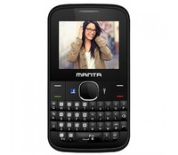 "MANTA TEL2201 Mobile phone with QWERTY keyboard, Dual SIM, Black, 2.2"" color display, 220x176 resolution, Integrated Flashlight, Bluetooth, Back camera, Micro SD slot, FM radio, MP3 player, GSM 900/1800MHz, 800mAh battery"